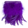 Coque/marabou Trim 6-7in 1Yd Approx 17g Purple